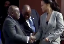 Video: When Nana Addo Came Face to face with Rihanna