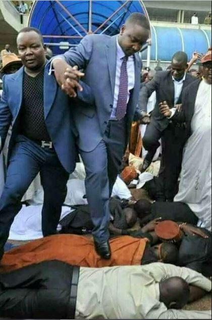 Ugandan Pastor Walks On Church Members As God's Instruction