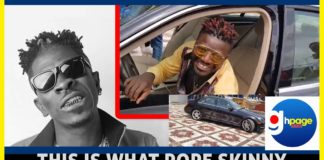 Video: This is what Pope Skinny has to say to Shatta Wale after dashing him a brand new car