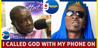 I called God with my phone on Ebony's demise - Shatta Wale's father