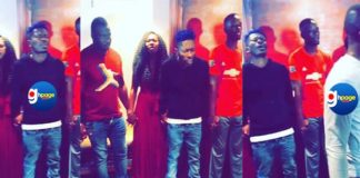 Video: Shatta Wale and The Shatta Movement Spends Val's Day Praying For Protection