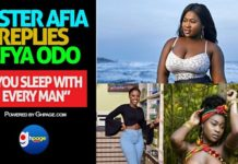 """You are not just a broke Ashawo you are also a thief who stole your BF's GHS 400 - Sista Afia Jabs Efia Odo"