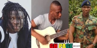 Stonebwoy Shares A Tearful Video Of The Soldier Who Died With Ebony