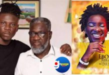 Photos: Stonebwoy and his crew visits Ebony's father to pay their tribute
