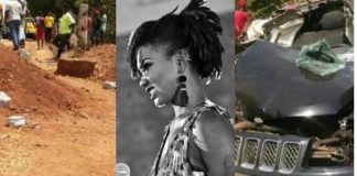See Photos Of Death Trap Road, Heap Of Sand That Killed Ebony