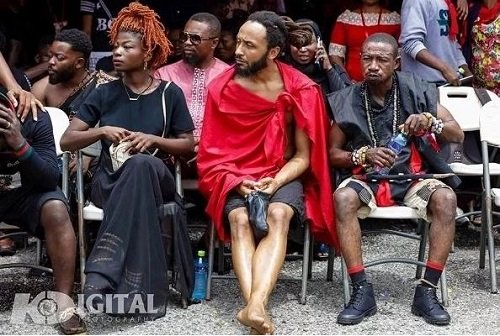 Wanluv Kubolor, Bukom Banku and the 6 'unusual' dressing spotted at Ebony's funeral