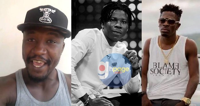 Video: Archipalago and Stonebwoy mocks Shatta Wale[Watch]