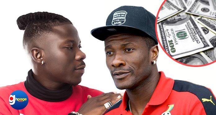 Asamoah Gyan to pay $2 Million to bailout Stonebwoy from Zylofon Media?