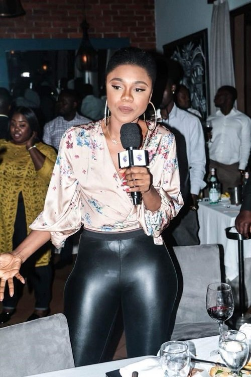 Photos: Becca bleaches to the extreme and Ghanaians can't think far