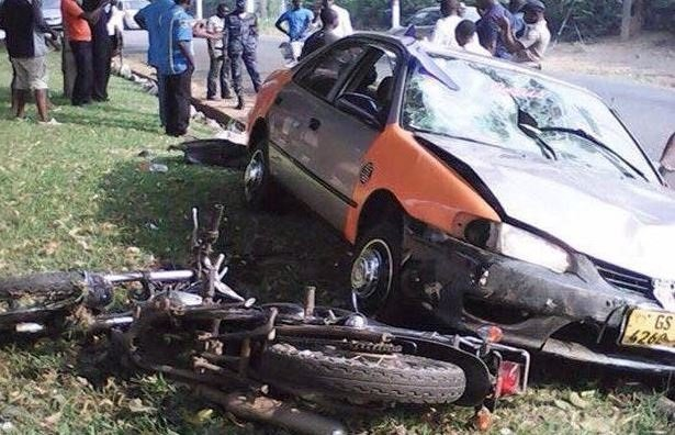 Taxi driver knocks down three armed robbers at Osu