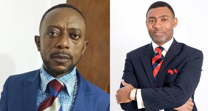 Hot Video: Dr. Lawrence Tetteh disgraces Rev. Owusu Bempah At Ebony's Funeral (Video)