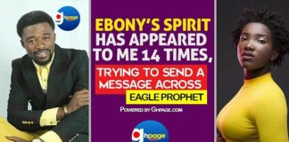The morgue video of Ebony isfor spiritual binding; Ebony has appeared to be 14 times - Eagle Prophet