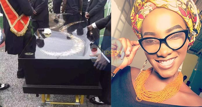 Manufacturers of Ebony's casket tell secret behind black colour