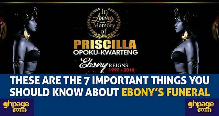 These Are The 7 Important Things You Should Know About Ebony's Funeral