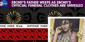 Ebony's Father Weeps As Ebony's Official Funeral Clothes Are Unveiled [Watch Video]