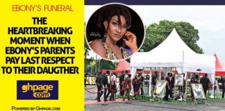 Video: The Heartbreaking Moment When Ebony's Parents Pay Last Respect To Their Daughter