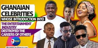 "10 Ghanaian celebs whose introduction into the entertainment industry ""destroyed"" the careers of others"