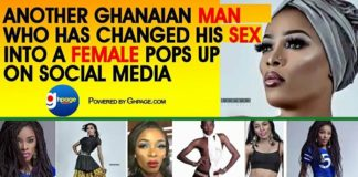 Another Ghanaian Man Who Has Changed His S£X Into A Female Pops Up On Social Media [Photos+Video]