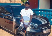 Photo: Kuami Eugene just acquired a brand new luxurious car for himself