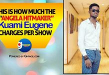 "Video: This Is How Much The 'Angela"" Hitmaker, Kuami Eugene Charges Per Show"