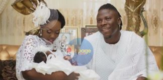 This is what Kumi Guitar has to say about Stonebwoy's new baby girl