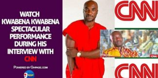 Watch Kwabena Kwabena's Spectacular Performance During His Interview With CNN