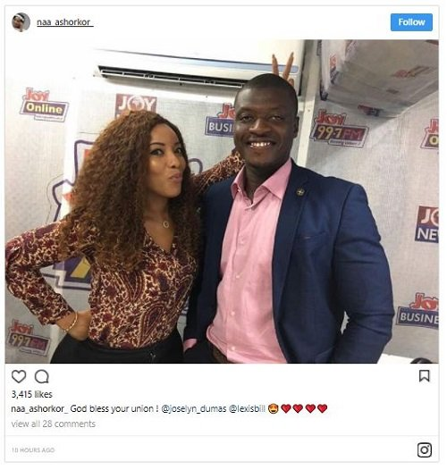 Exclusive: Lexis Bills to marry Joselyn Dumas? - Naa Ashorkor reveals