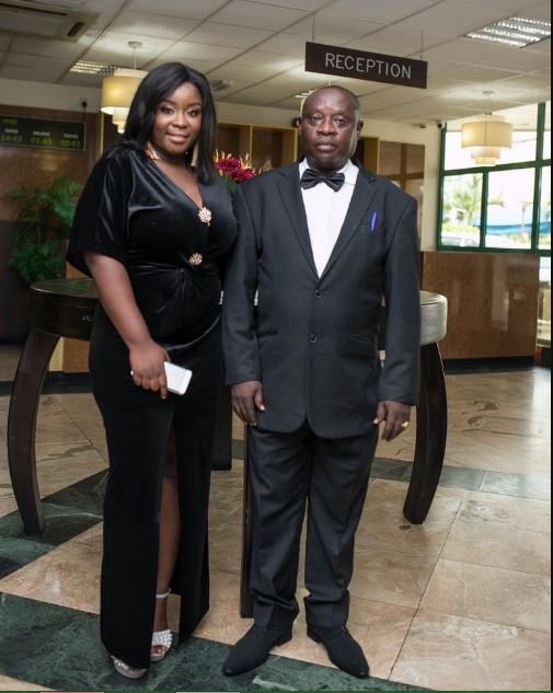 Meet Mr. George Benson, Maame Serwaa's Father