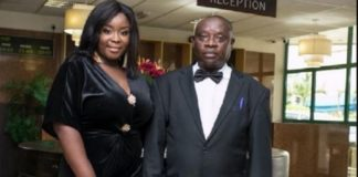 Meet Mr. George Benson, Maame Serwaa's Father