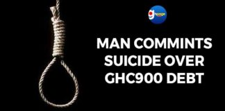 Man commits suicide over GHC900 debt