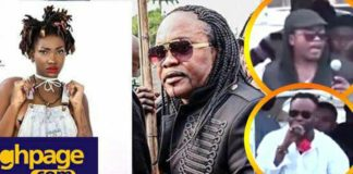 Watch the amazing performance by Nana Acheampong and Dada KD's that wiped the tears of mourners at Ebony's funeral
