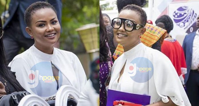 Photos: Nana Ama McBrown goes for the short hair style and looks so amazing