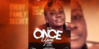 """Mercy Johnson, Fella Makafui,Kofi Adjorlolo in """"Once Upon A Family"""" Movie premiers on 2nd April at the National Theater"""