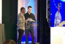 Owura Kwadwo, The Blackboard Computer Teacher gets standing ovation in Singapore