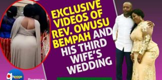 More Exclusive VIDEO Of Owusu Bempah's Wedding To His Bootylicious 3rd Wife
