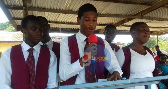 Photos: Actor Rahim Banda Elected School Prefect And SRC President For Ghana National College