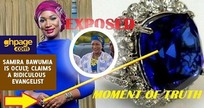 Video: Evangelist Claims Samira Bawumia Is Occult; His Evidence Is Totally Insane