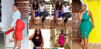 """Big B00bs And Bum Is A Family Thing"" - YOLO Actress Serwaa Opoku Addo Claims As She Poses With Her Heavily Endowed Sister (PHOTOS)"