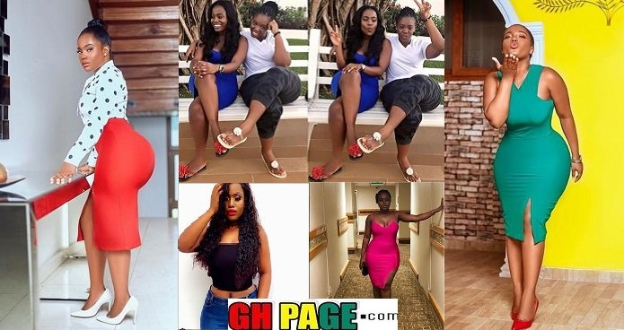 """Big B00bs And Bum Is A Family Thing"" – YOLO Actress Serwaa Opoku Addo Claims As She Poses With Her Heavily Endowed Sister (PHOTOS)"