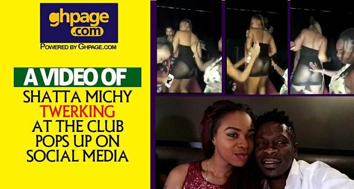 A Video Of Shatta Michy Twerking At The Club Pops Up On Social Media [Watch]