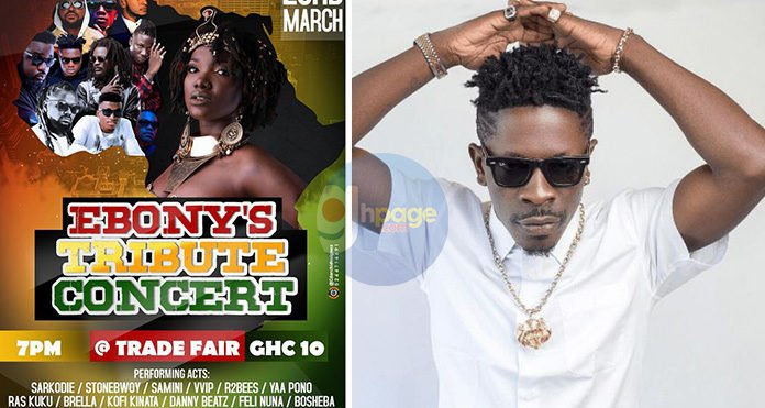 """Shatta Wale """"Fingered"""" As The Hypocrite Artist Who's Requesting Money To Perform At Ebony's Tribute Concert"""