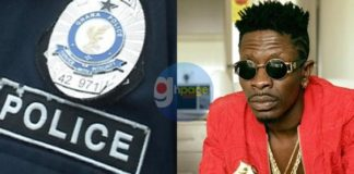 Woman arrested for recording Shatta Wale's fierce fight with Police Officer