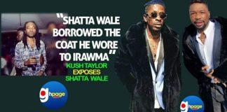 Photos: Shatta Wale Borrowed The Coat He Wore To IRAWMA -Kush Taylor Exposes Shatta