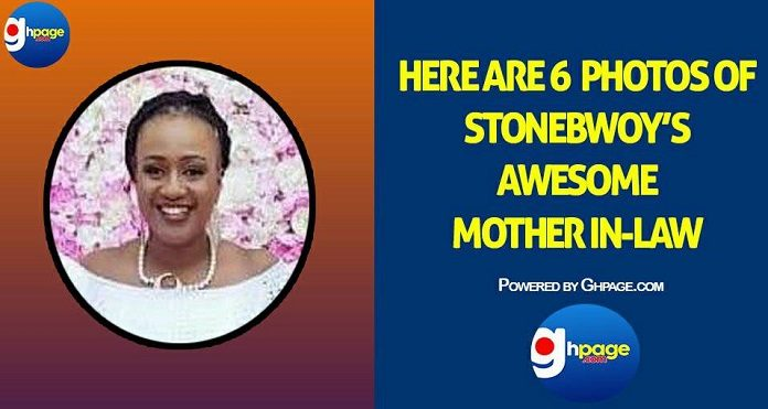 Here Are 6 Photos Of Stonebwoy's Awesome Mother-In-Law