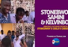 Watch Samini, Stonebwoy and Kelvinbwoy Amazing Live Band Performance at Stonebwoy's Child's Christening