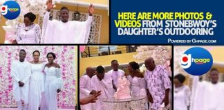 Here Are More Photos From Stonebwoy's daughter's outdooring [Photos+Video]