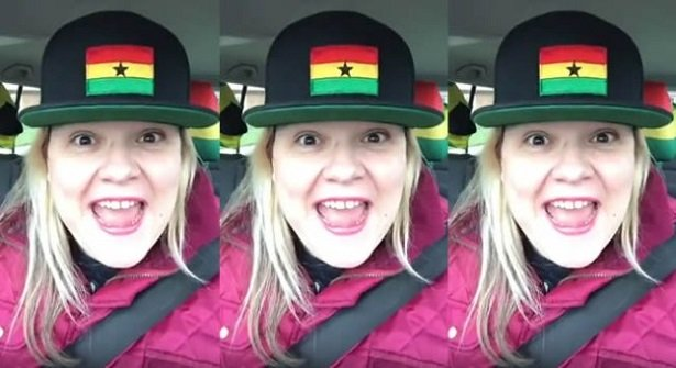 Viral Video: White lady goes 'mad' for Shatta Wale's 'Freedom'