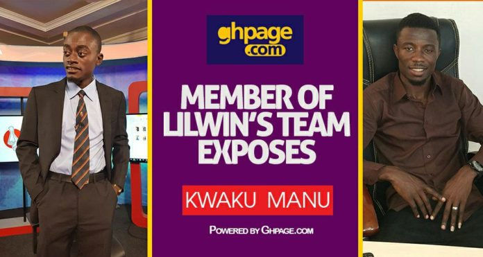 Lilwin's manager exposes Kweku Manu of his plot to disgrace Liwin