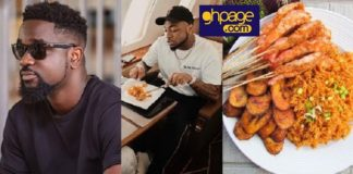 Jollof War: Sarkodie challenges Davido to a jollof rice cooking competition, he responds