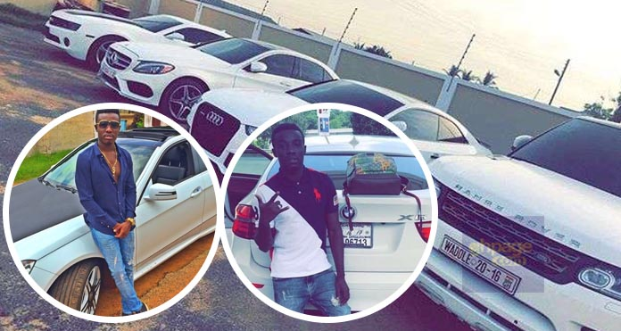 Criss Waddle Says This Is Just The Beginning As He Shows Off His Fleet Of Cars